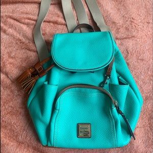 New backpack D&B authentic teal color